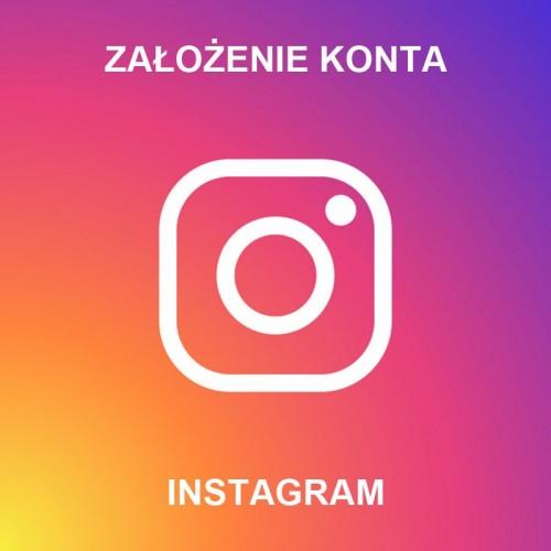 Założenie konta na Instagramie