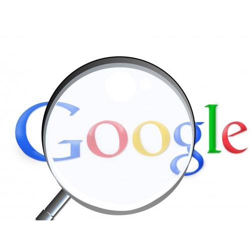 Śledzenie pozycji w Google
