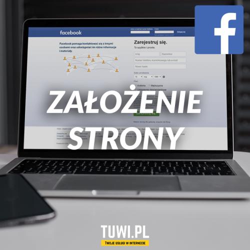 Założenie strony na Facebooku