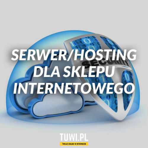 Serwer/hosting dla sklepu...