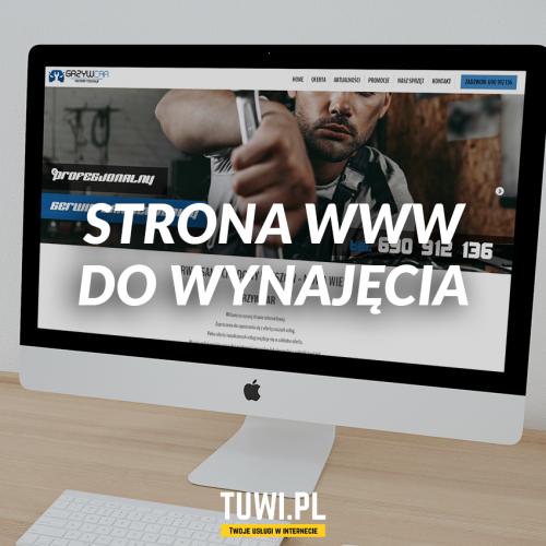Strona www do wynajęcia