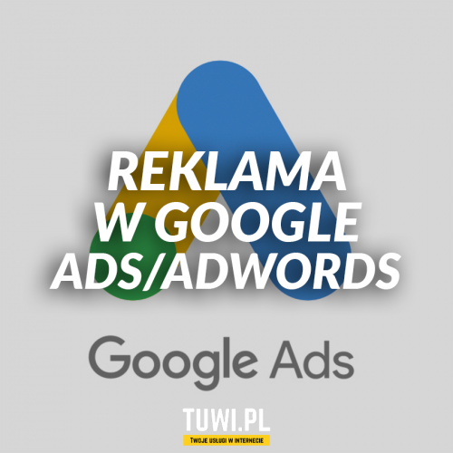Reklama w Google Ads / Adwords