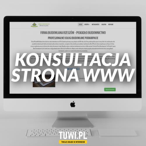 Konsultacja strona www -...