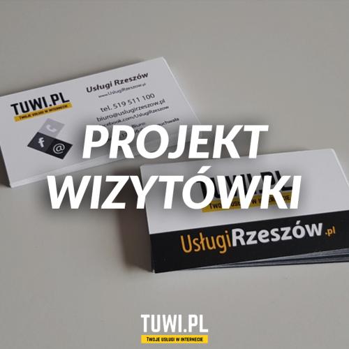 Projekt wizytówki