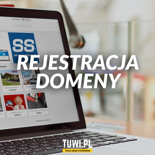 Domena - rejestracja domeny dla strony www lub sklepu internetowego