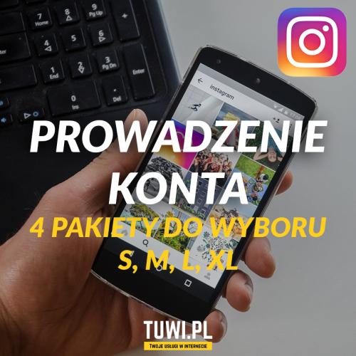 Prowadzenie konta Instagram