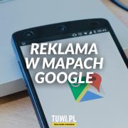 Reklama w mapach Google